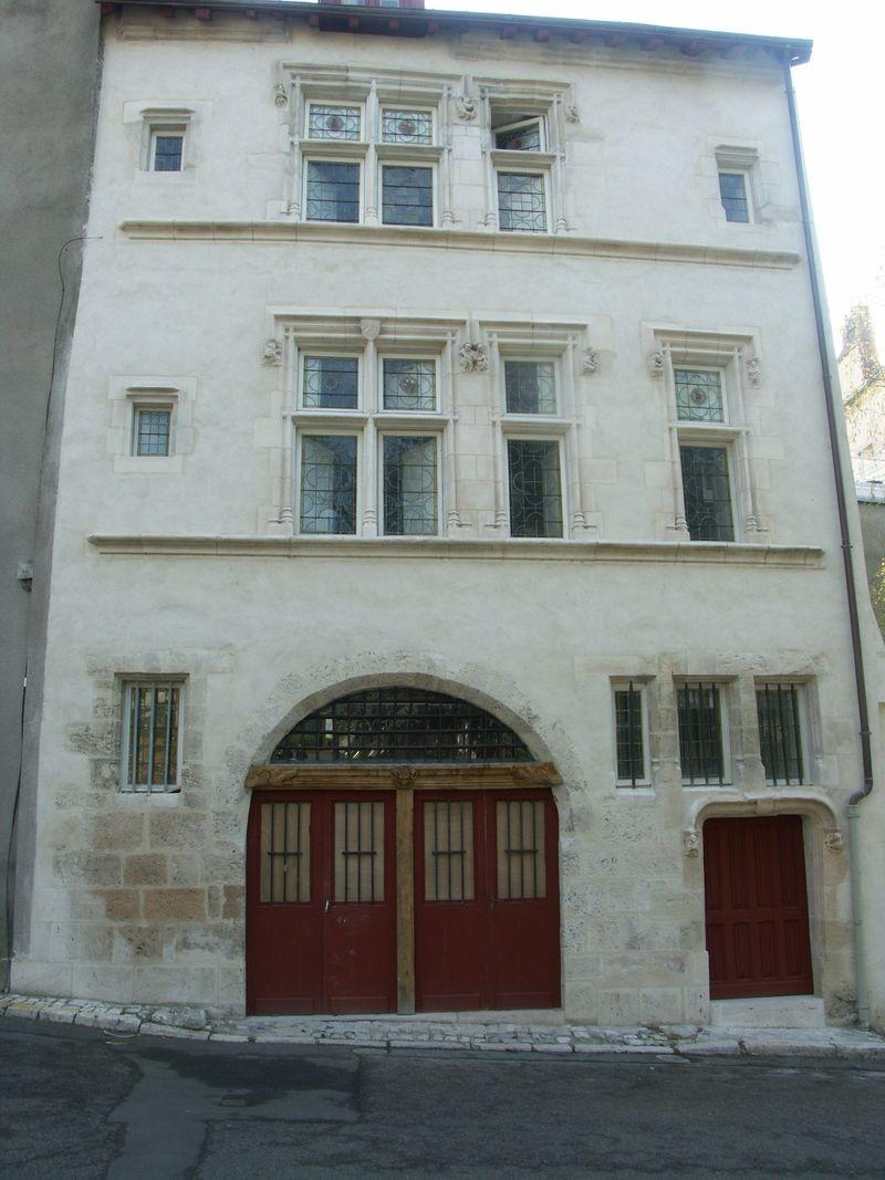Fig. 7, maison rue des Trois Maillets 1520-1530