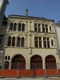 Fig. 1, maison place du Général de Gaulle milieu XVIe s.